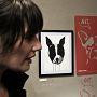 L'artista Lucia Rafanelli